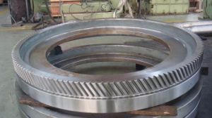 Forged Large-Sized Gear Ring for Machining Parts pictures & photos
