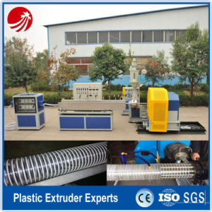 Corrugated PVC Spiral Steel Wire Reinforced Hose Production Line pictures & photos