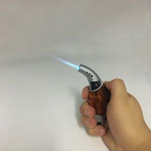 Mini Orange Windproof Torch Butane Gas Jet Flame Cigarette Lighter (ES-TL-001) pictures & photos