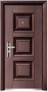 Three Panel Steel Copper Door pictures & photos