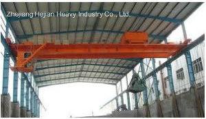 10t-28m Bucket Bridge Eot Crane for Chemical Workshop pictures & photos