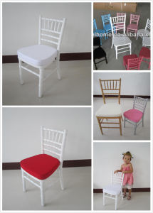 High Quality Wood Kid Chiavari Chair, Child Tiffany Chair for Party pictures & photos