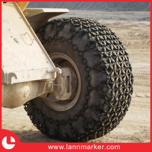 Tyre Protection Chain for Wheel Loader pictures & photos