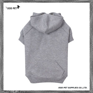 Gray Plain Basic Dog Hoodies Sph6001-4 pictures & photos