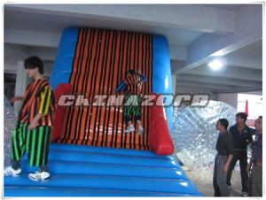 New Arrival Sport Game Hook & Loop Inflatable Sticky Wall Factory Price pictures & photos