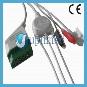 Bsm2301 Nihon Kohden 3 Lead ECG Cable with Leadwires pictures & photos