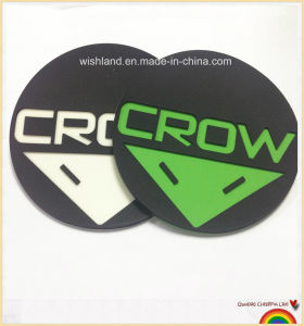 Professional Design 100% Eco Friendly Embossed PVC Label