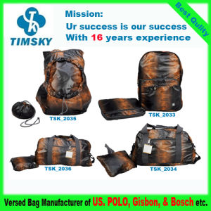 2014 New Fashion Folding Travel Bag Backpack for Promotion, Sport, Travel, School, Hiking