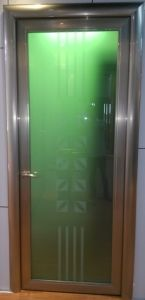 Aluminium Casement Door (washing room) pictures & photos
