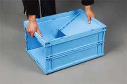 Plastic Foldable Container Cl-8990