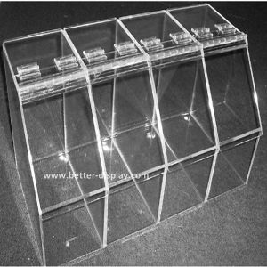Supermarket Acrylic Candy Box / Acrylic Food Display Tray (BTR-K4026) pictures & photos