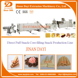 Inflated Puff Snack Food Processing Equipment and Making Machine Extruder pictures & photos