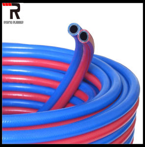Oxygen Acetylene Rubber Hose for Welding pictures & photos