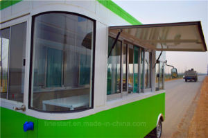 Electric Mobile Dining Car for Cooking Fast-Food Sunch as Ice Cream, Candy, Chocolate, Popcorn, Chips, Biscu, Popcorn, Donut, Drinks pictures & photos