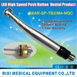 LED Anti-Retraction Quick Coupling Dental Handpiece