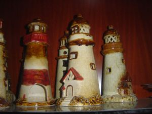 Ceramic Tower Garden Decoration