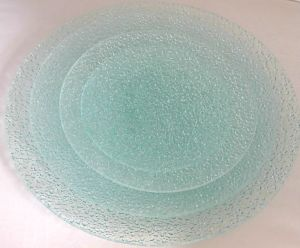 Retro Diamond Glass Plate of Glassware in Kitchenware Tableware Tempered pictures & photos