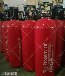 0.5L to 30L Aluminum Alloy Beverage CO2 Gas Tank Sizes pictures & photos