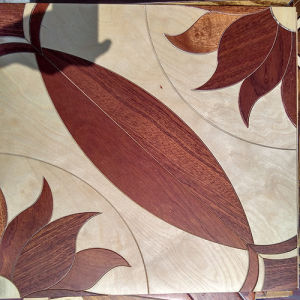 Multilayer UV Art Parquet Engineered Wood Flooring Mosaic Style pictures & photos