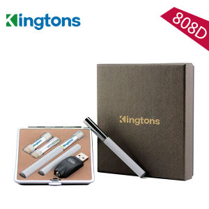 2015 Top Selling 300 Puffs E Cigarette Vapor Pen with Two Disposable Cartridges (K808D) pictures & photos