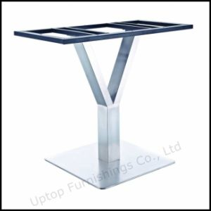 Y Shape Stainless Steel Metal Table Base (SP-STL255) pictures & photos