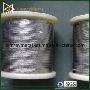 1X19 Galvanied / Stainless Steel Wire Rope pictures & photos