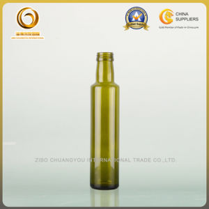 Wholesale 250ml Round Shape Glass Olive Oil Bottles (021) pictures & photos