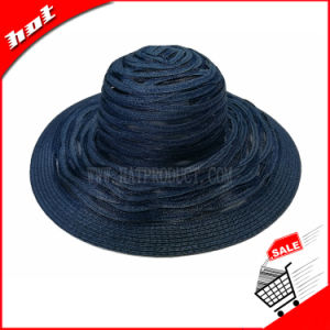 Wide Brim Paper Straw Floppy Hat pictures & photos