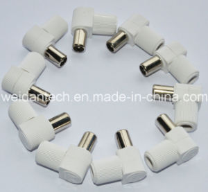 White Right Angle 9.5 PAL Plug pictures & photos