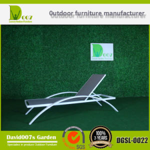 SGS Certificated Outdoor Pool Beach Adjustable Textilene Sun Lounger pictures & photos