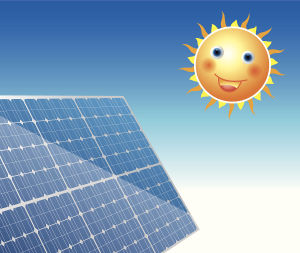 Power Plant Helper Solar Panel Delivering Electricity to Plant and Home pictures & photos
