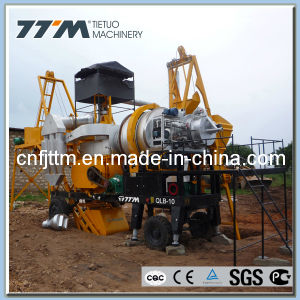 10TPH Mobile Mini Asphalt Mixer, Asphalt Mixing Plant pictures & photos
