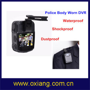 Ambarella Chipset Full HD Police Body Worn DVR with Night Vision and IR pictures & photos