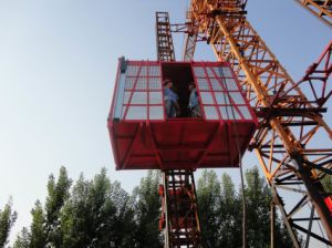 CE Approved Construction Hoist, Construction Site Elevator pictures & photos