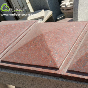 Indian Red Granite Pier Caps and Quoin pictures & photos