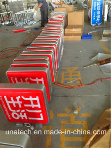 Square Outdoor Street Post Wall Mount Display LED Signboard Silk Printing Vacuum Plastic Light Box pictures & photos