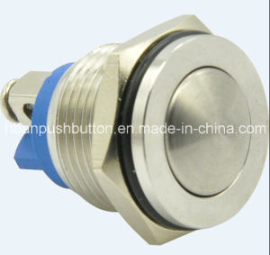 New 16mm Domed-Hyperplane Waterproof Push Button Switch pictures & photos
