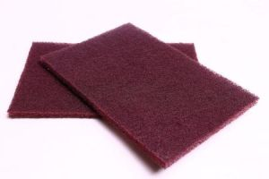 Non-Woven Abrasive Scouring Pad for Manual Finishing