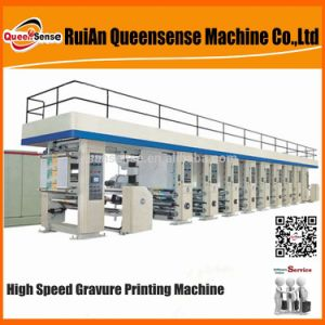 Roto Color Printing Machine High Speed pictures & photos