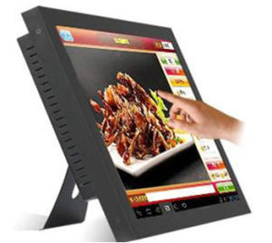 "17"" Resistive Touch Screen LCD Monitor for Restaurant Menu pictures & photos"