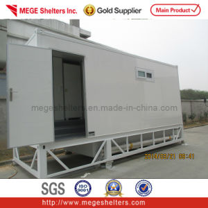 Container Toilet / Shower Room with Waste Tank