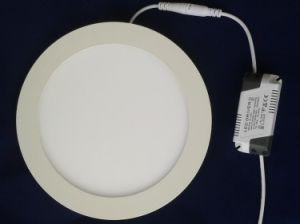LED Slim Panel Light Round 18W 165V-265V