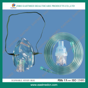 High Quality Disposable Oxygen Mask pictures & photos