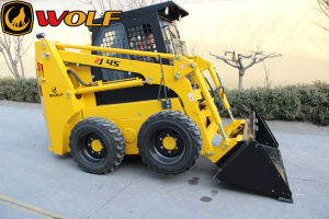 Wolf 35HP 45HP 60HP 65HP 75HP CE Skid Steer Loader for Sale pictures & photos