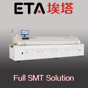 Full Hot Air Lead-Free Reflow Oven with CE (E10) , Reflow Oven pictures & photos