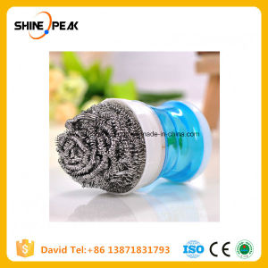 Steel Wool Sponge Scourer Stainless Steel Pot Scrubbers pictures & photos