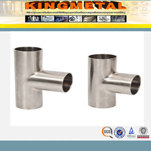 ASME Bevel Ends Pipe Fitting Tee, Stainless Steel Reducing/Equal Tee pictures & photos