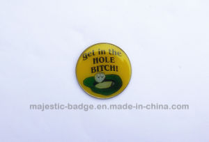 Nickel Plating Golf Ball Marker (Hz 1001 G022) pictures & photos