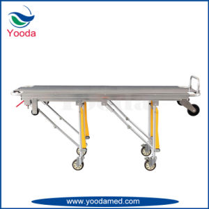 Stainless Steel Automatic Loading Funeral Stretcher pictures & photos