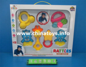 Educational Baby Toy Set Baby Ring Toy, Baby Rattle Toy (162104) pictures & photos
